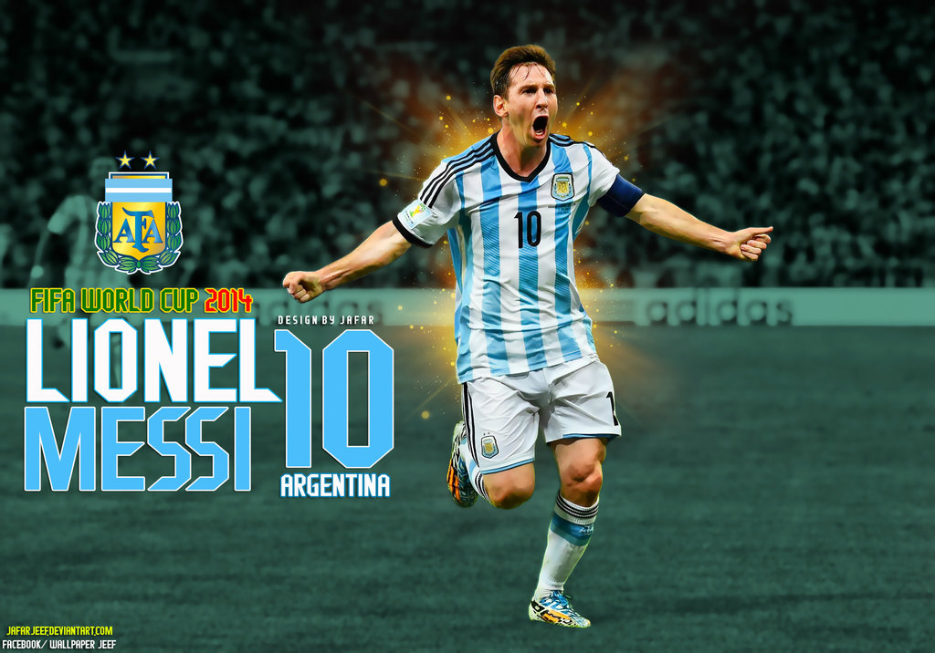 Lionel Messi Argentina World Cup 2014 Wallpaper by jafarjeef on 1024x716