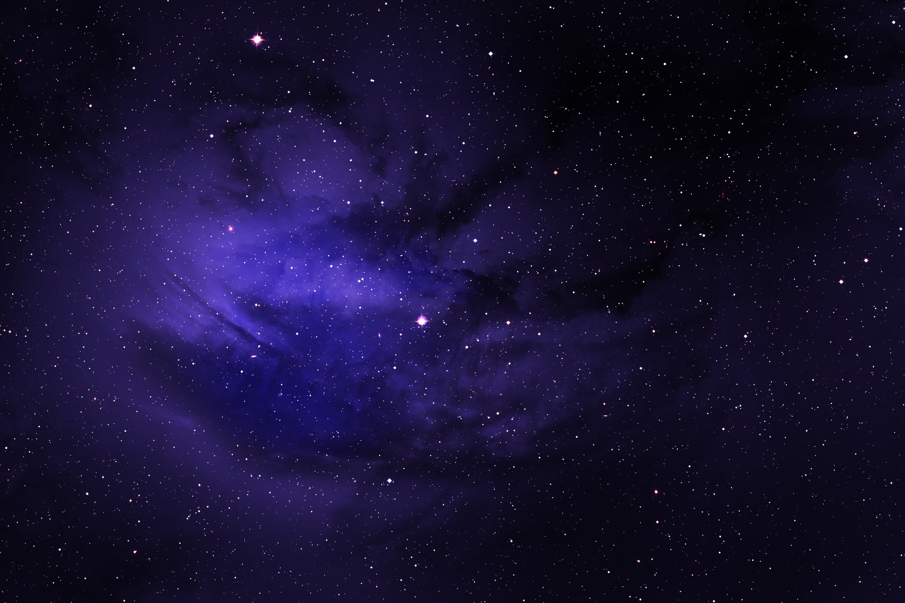 75 Blue Galaxy Wallpapers on WallpaperPlay 3000x2000