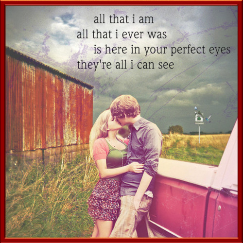 Cute Country Love Song Quotes For Him