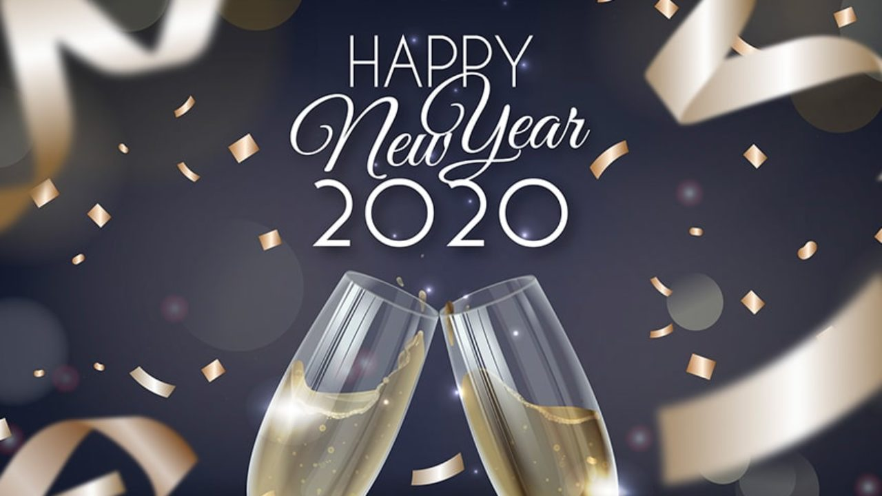 Happy New Year 2020 Best Whatsapp Wishes Facebook Messages 1280x720