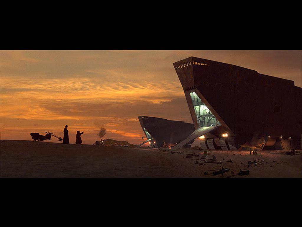 Free Download Star Wars Wallpaper Jawas Transportjpg 1024 X