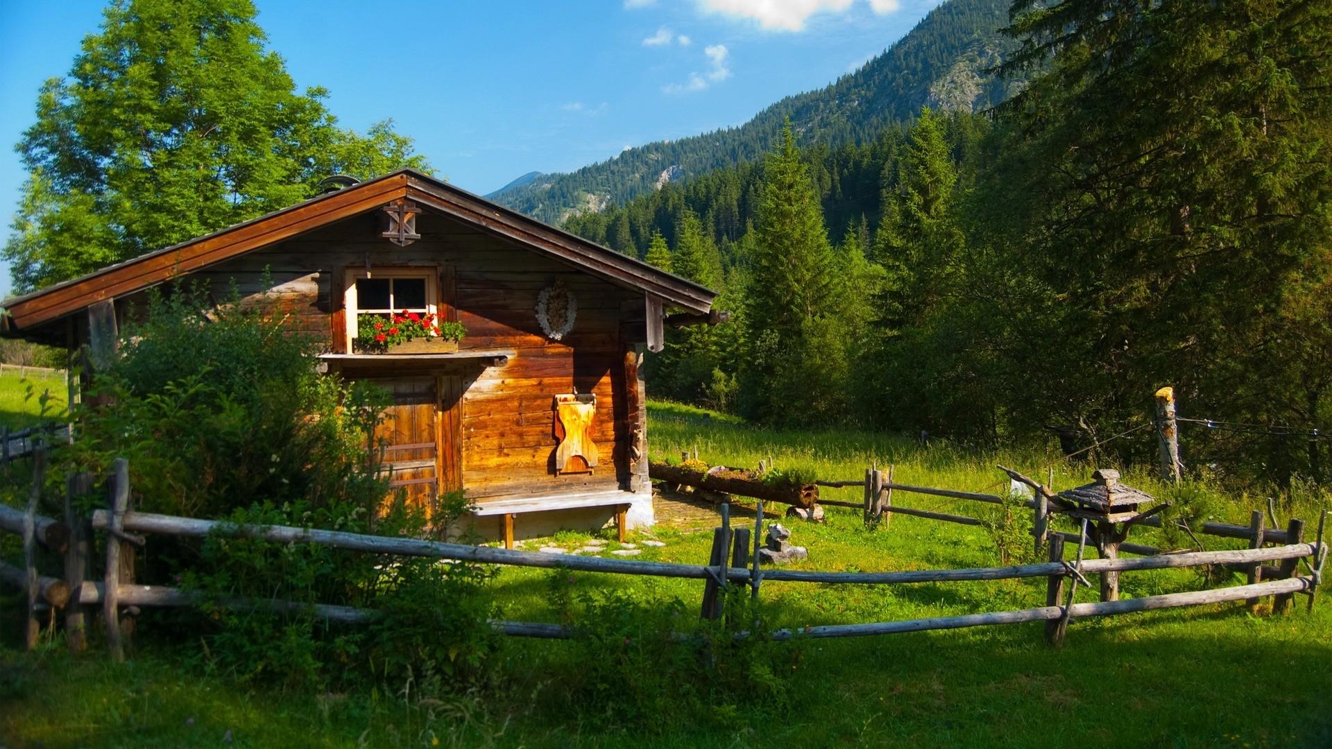 cabin in the mountains HD Desktop Wallpaper HD Desktop Wallpaper 1920x1080