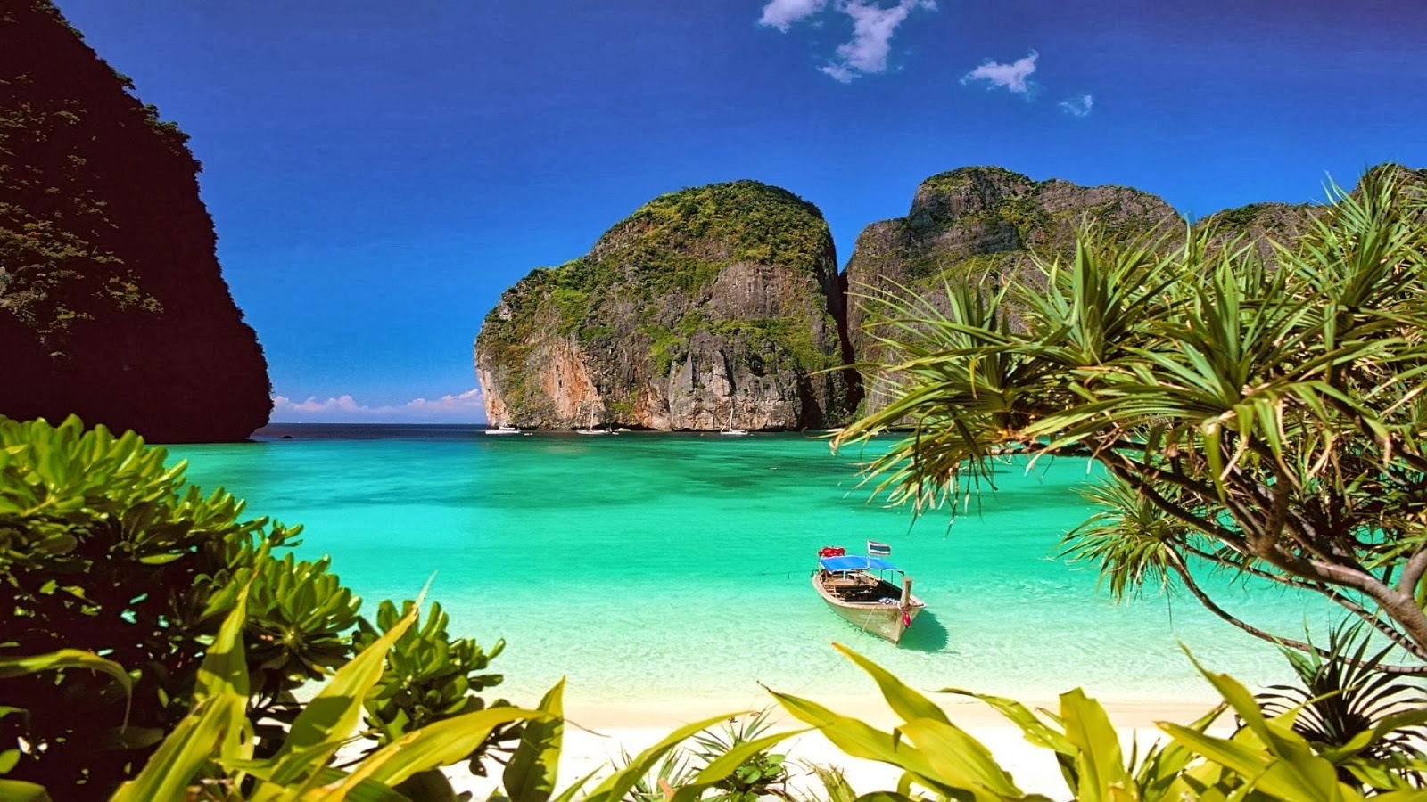 Hd Tropical Island Beach Paradise Wallpapers And Backgrounds: Thailand Beach Wallpaper