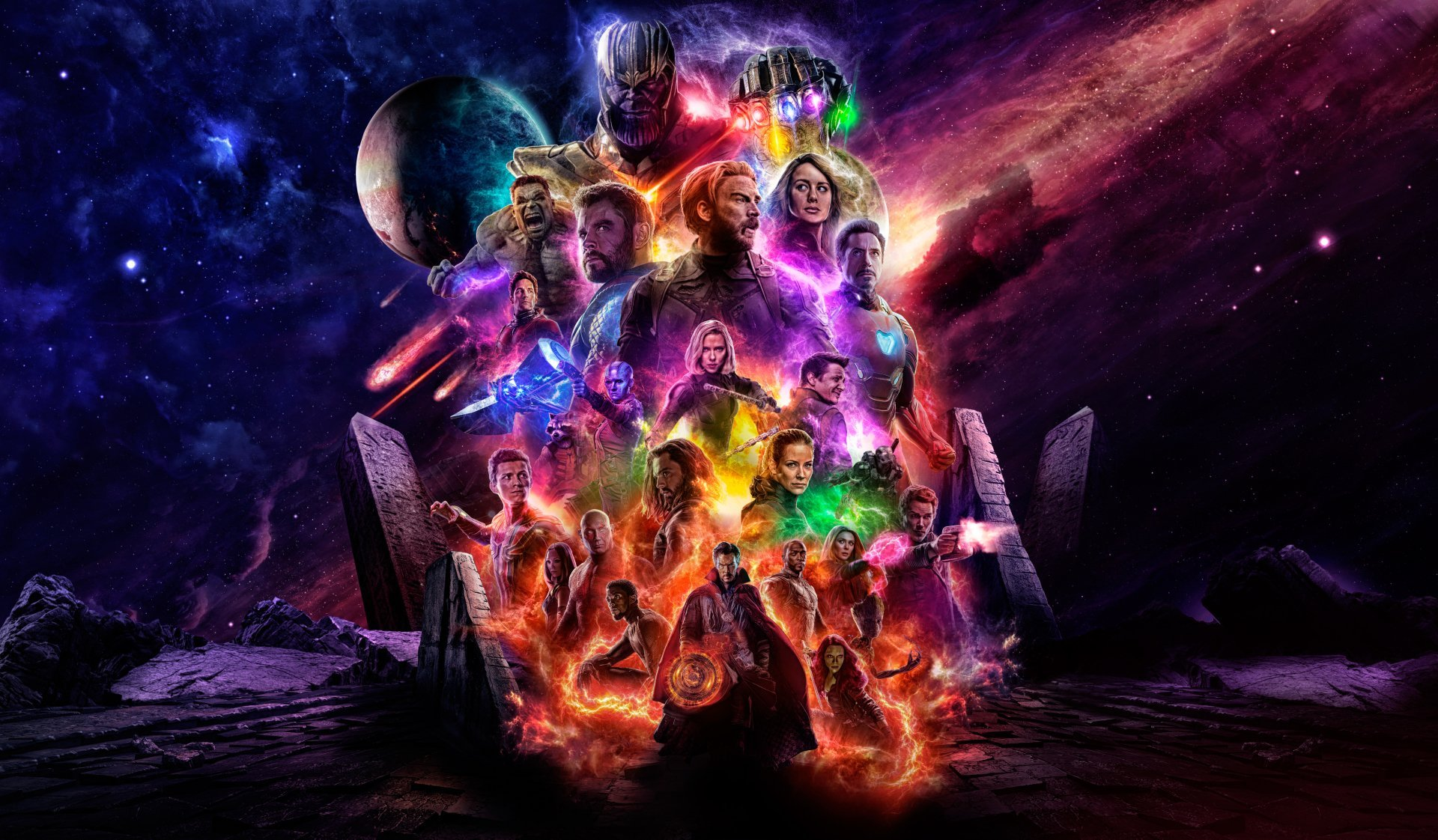 59 4K Ultra HD Avengers Endgame Wallpapers Background Images 1920x1122