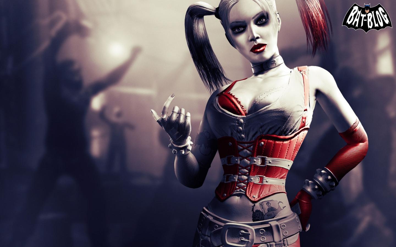BATMAN ARKHAM CITY   Joker and Harley Quinn Video Game Wallpapers 1440x900