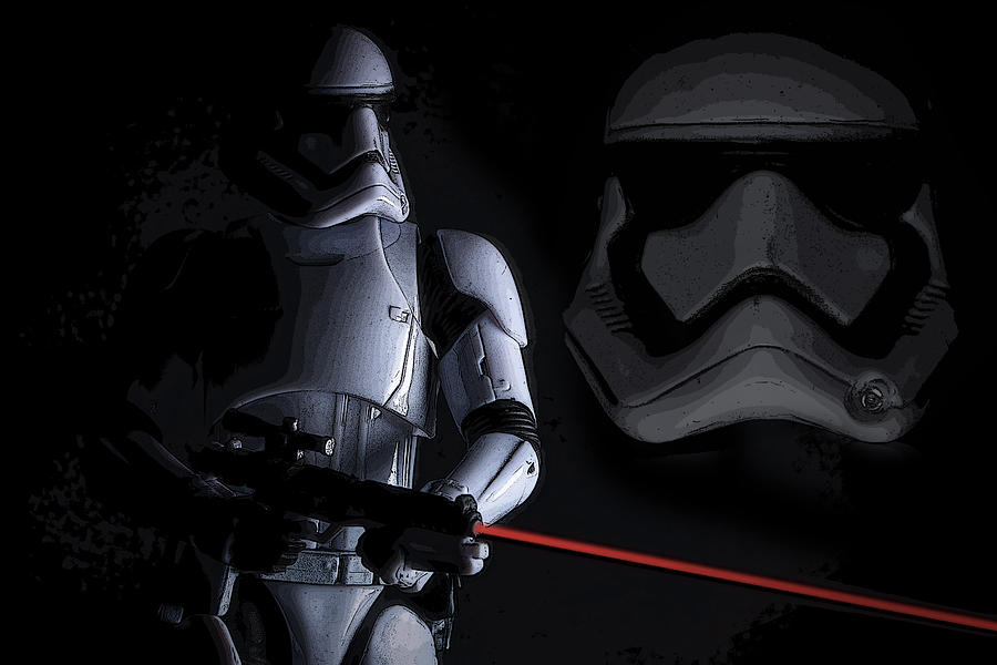 First Order Stormtrooper by Larry Helms 900x600
