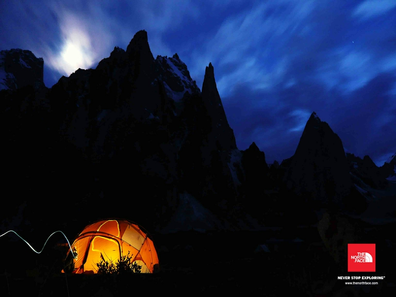 Camping The North Face Nature Mountains HD Desktop Wallpaper 800x600