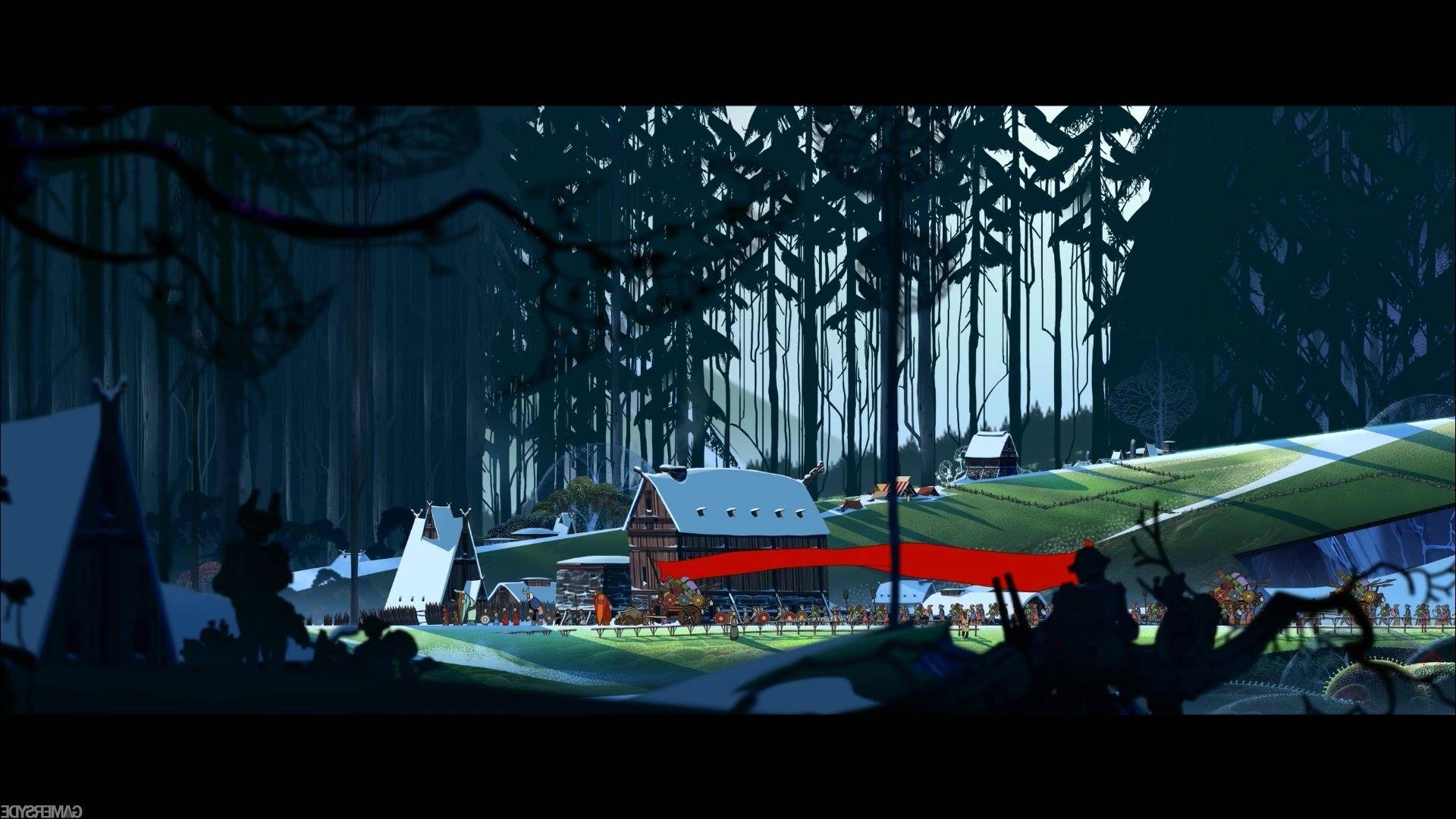 BANNER SAGA adventure fantasy tactical rpg viking fighting strategy 1920x1080