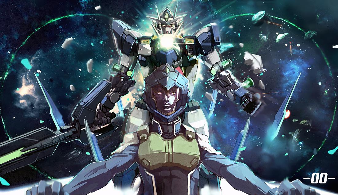 Gundam 00 Wallpaper 1100x637 Gundam 00 Setsuna F Seiei 1100x637