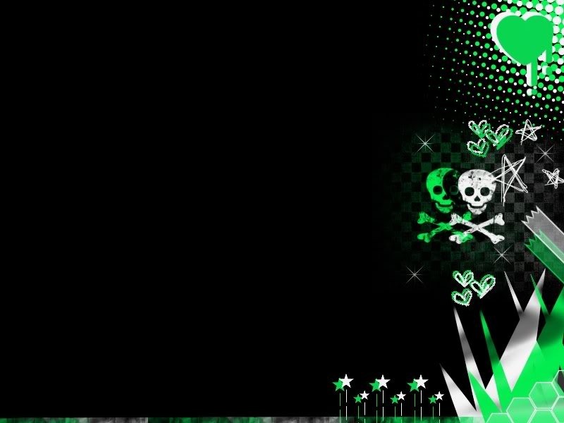 Green Emo Wallpaper Background Theme Desktop 800x600