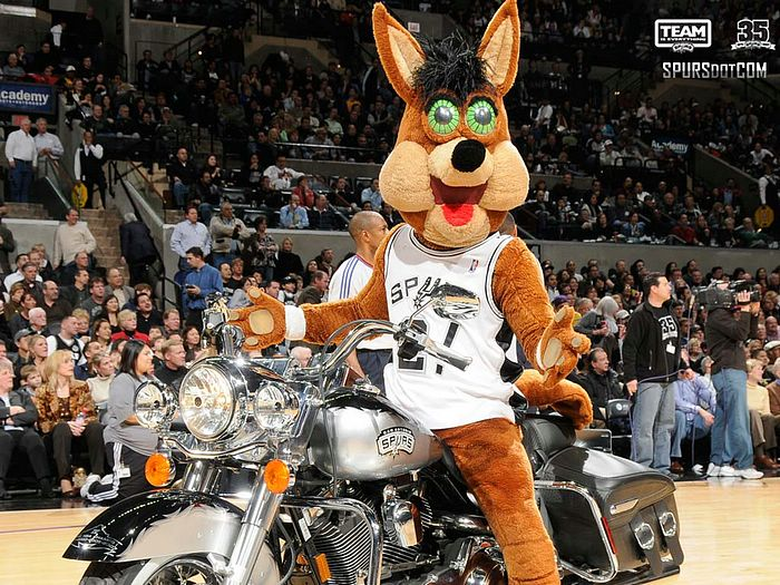 San Antonio Spurs Wallpapers NBA San Antonio Spurs Mascot Wallpaper 700x525