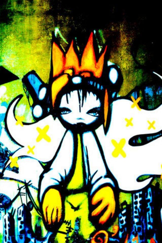 Graffiti wallpaper for phone wallpapersafari for Immagini graffiti hd