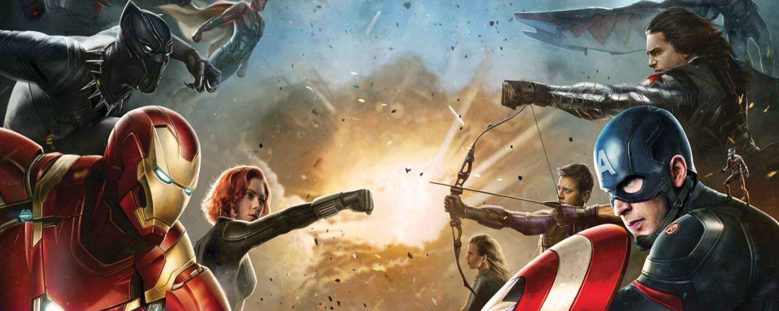Captain America Civil War Movie Wallpapers HDwallpaperUP 2560x1024