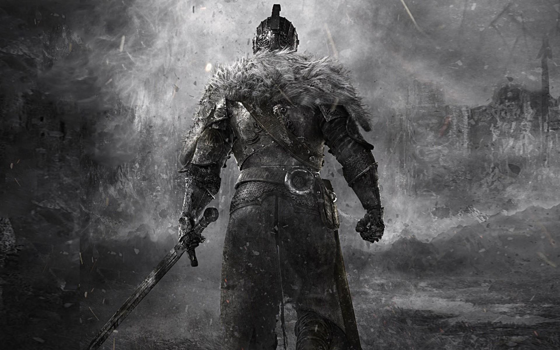 Knight Medieval Sword Dark Souls fantasy wallpaper 1920x1200 80533 1920x1200