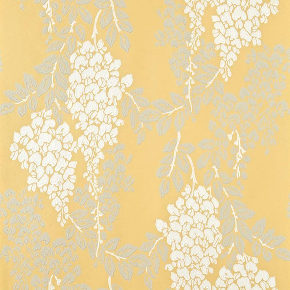 gray yellow and white wallpaper wallpapersafari. Black Bedroom Furniture Sets. Home Design Ideas