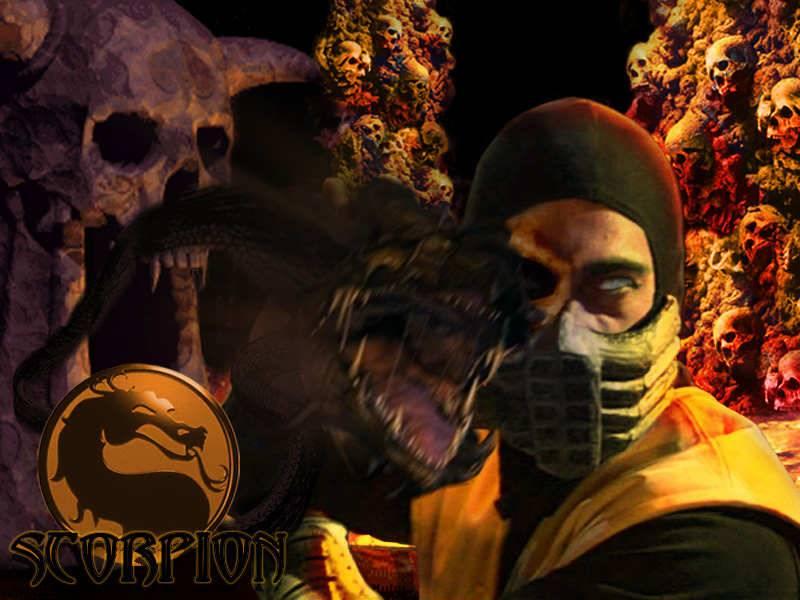 Scorpion MKC   Mortal Kombat Wallpaper 800x600