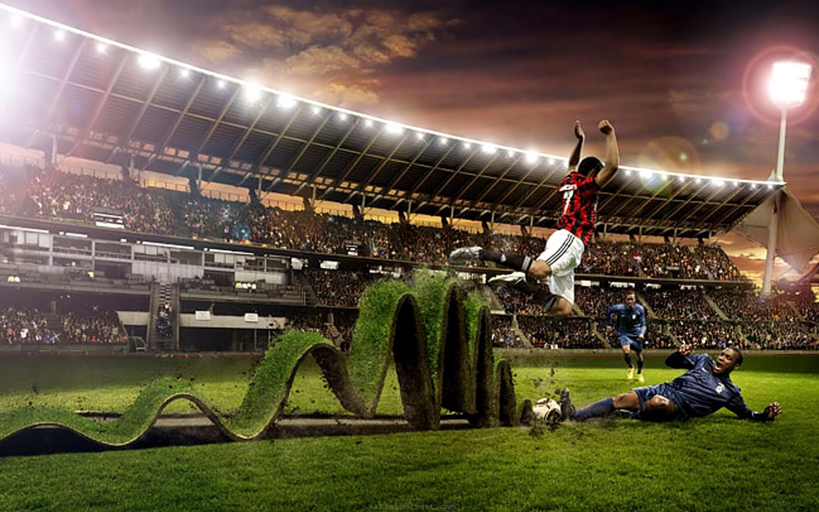 Football Wallpaper for Desktop - WallpaperSafari