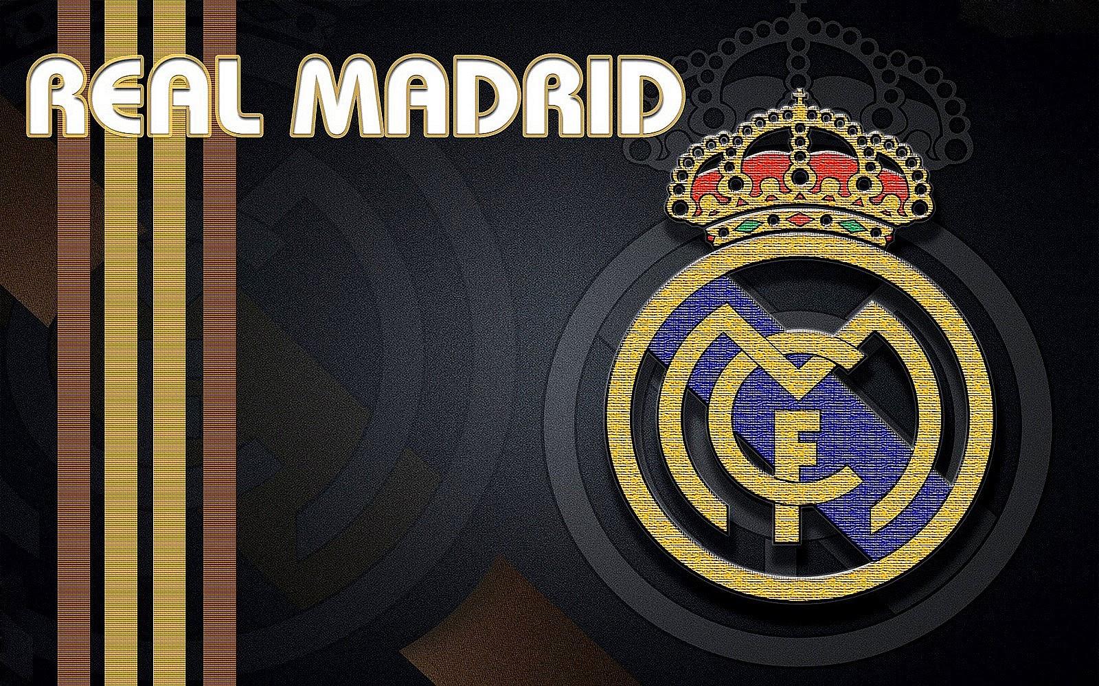 Real Madrid Logo Wallpaper HD 1600x1000