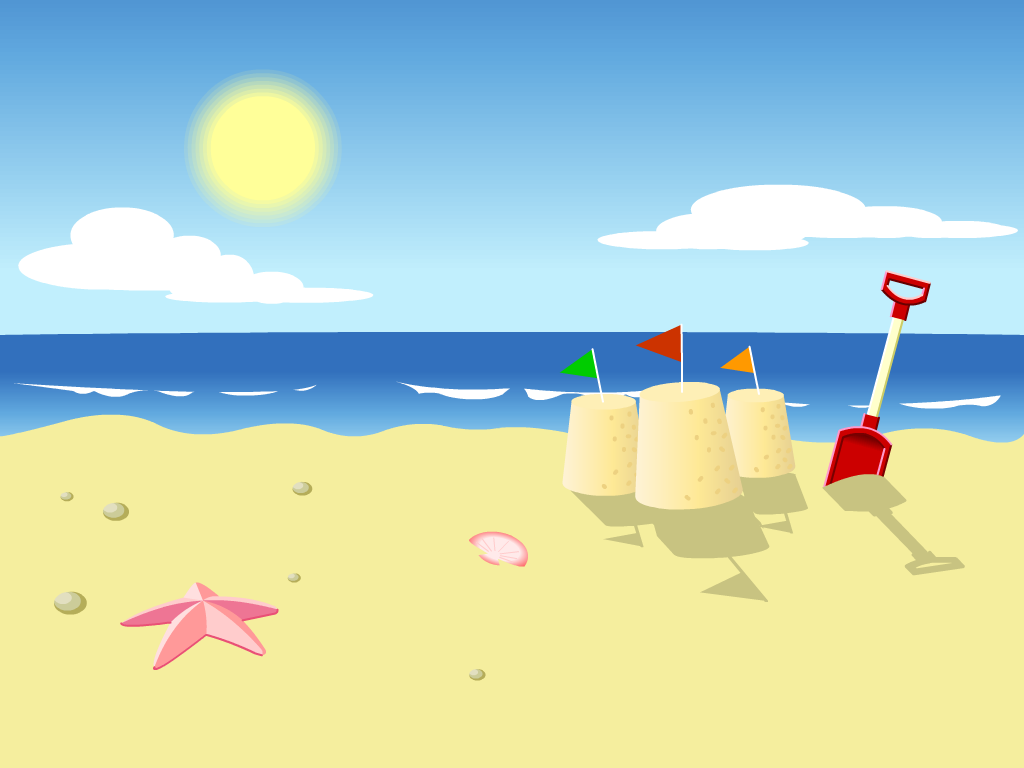 Cartoon Beach Wallpaper Cartoon Images 1024x768