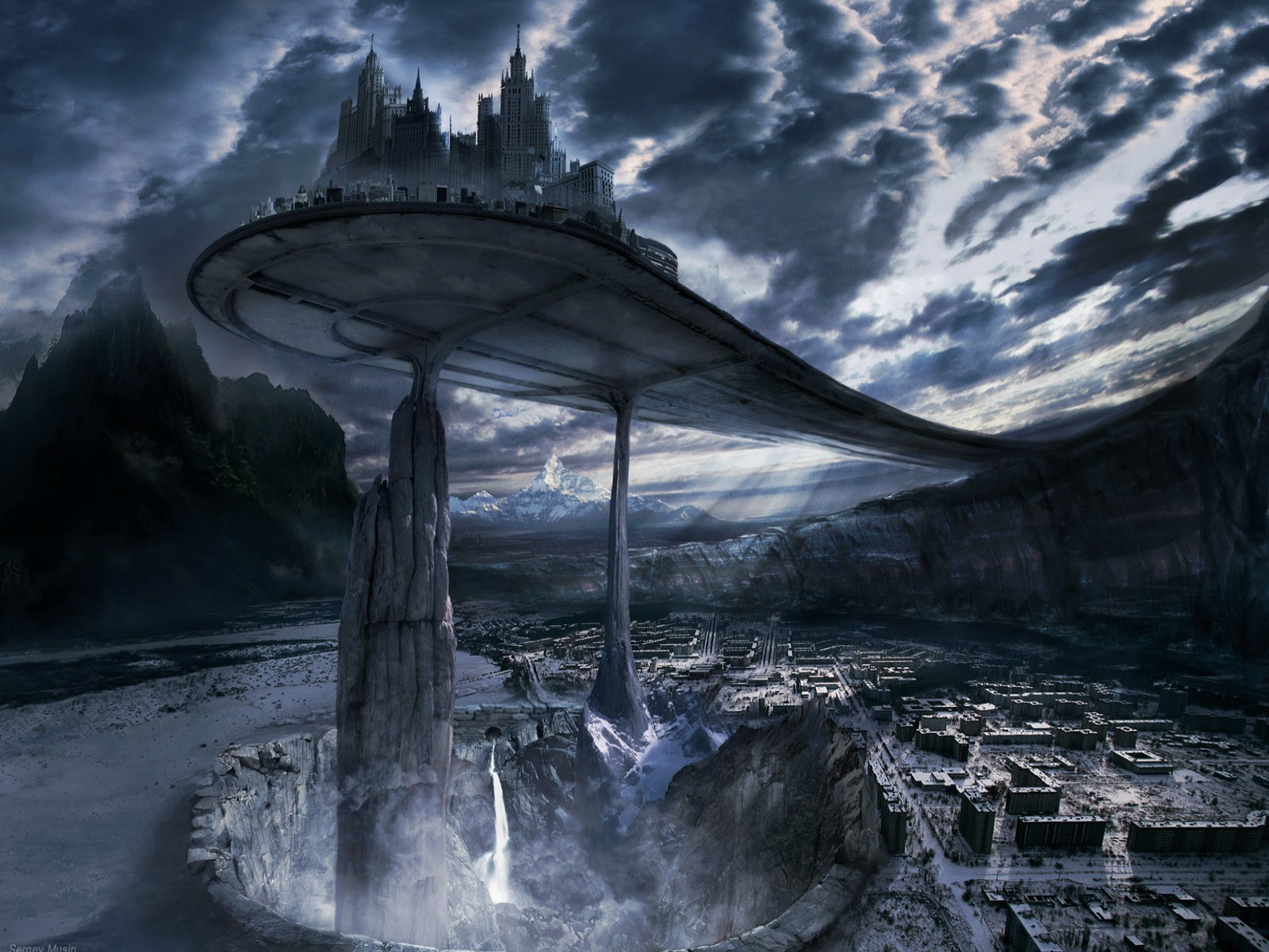 Create Attraction in your Mac using Sci fi wallpapers 1600x1200