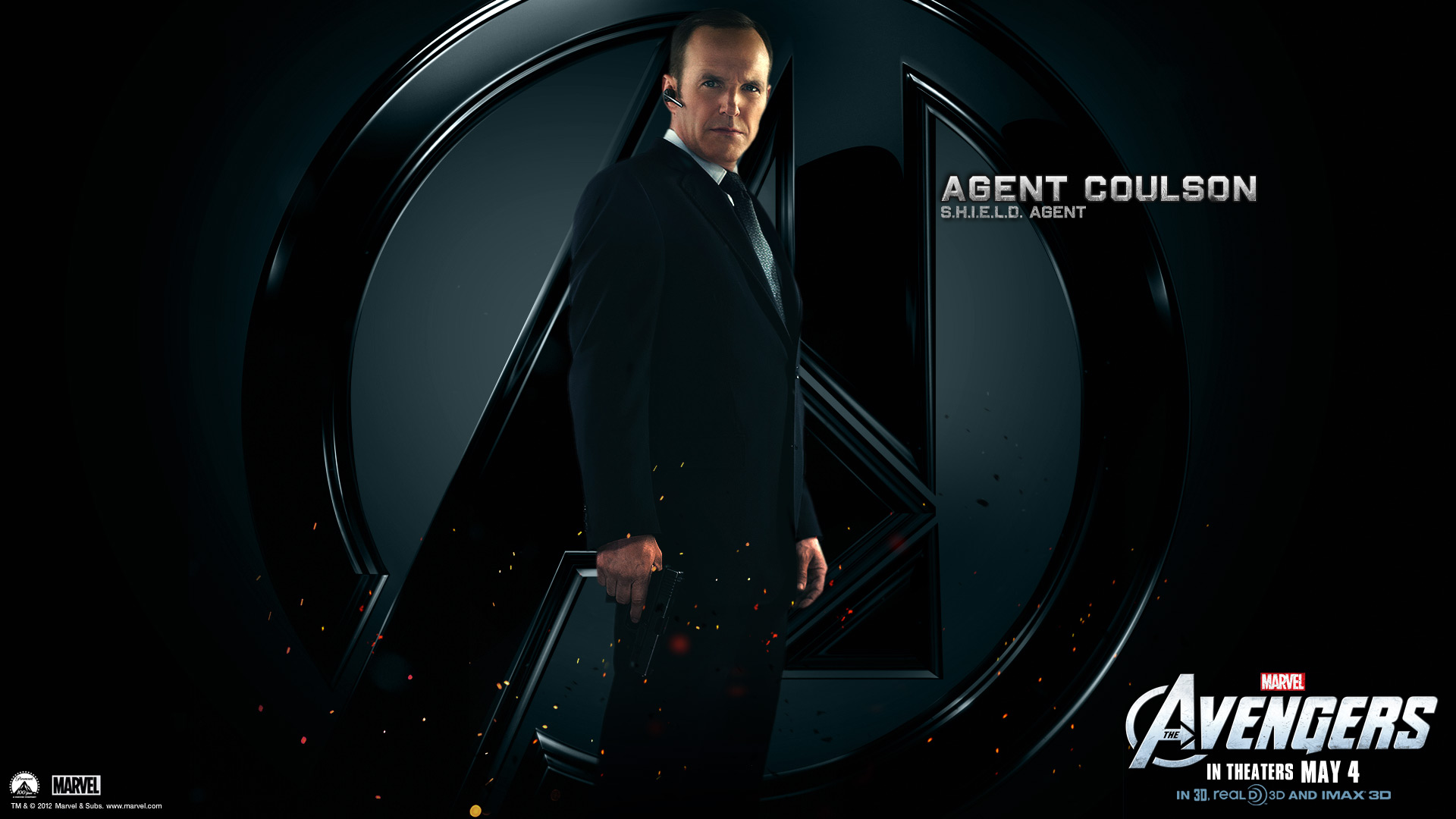 The Avengers Movie 2012 HD Wallpaper Phil Coulson Shield Agent 21 1920x1080