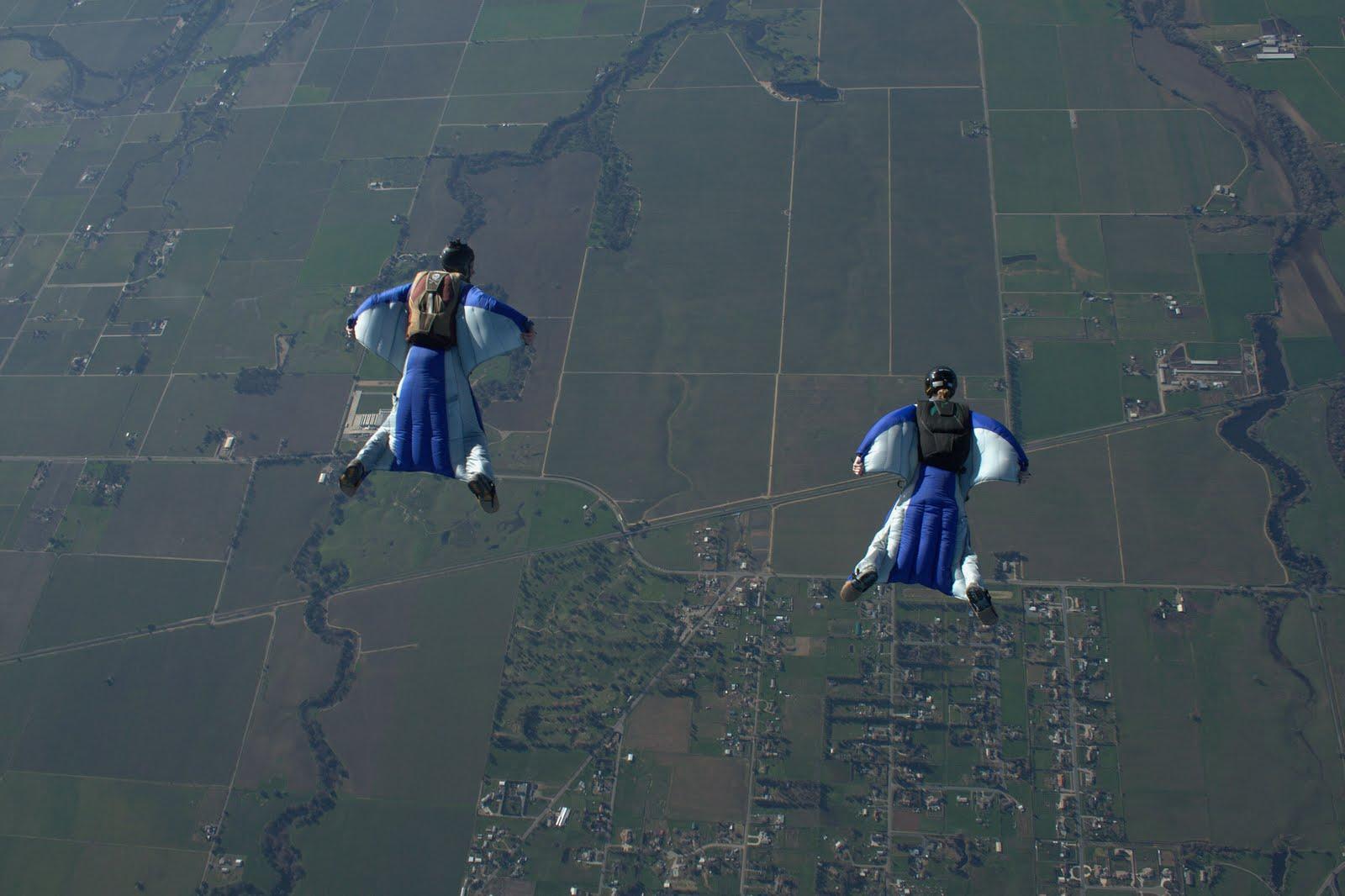 Wingsuit Wallpaper - WallpaperSafari