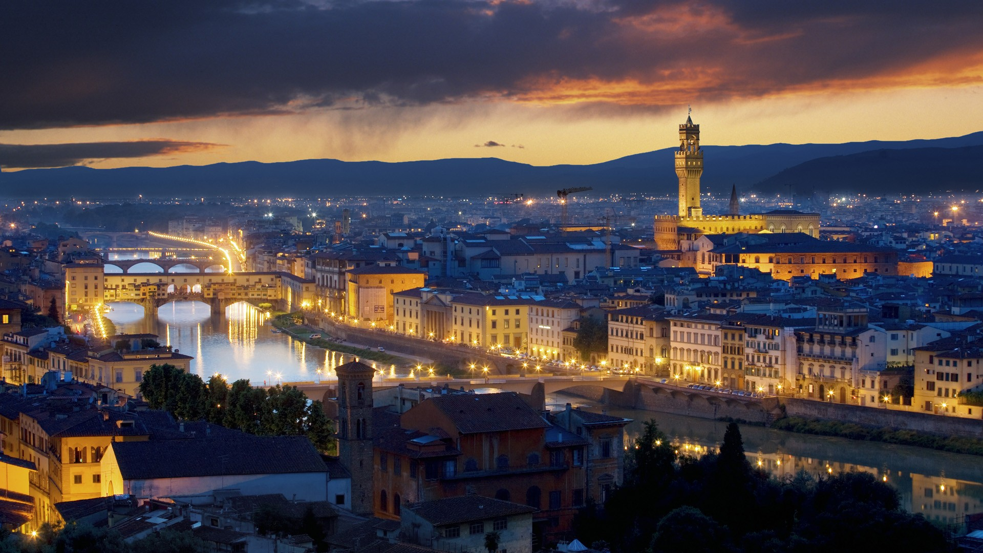 Cityscapes Italy Wallpaper 1920x1080 Cityscapes Italy Florence 1920x1080