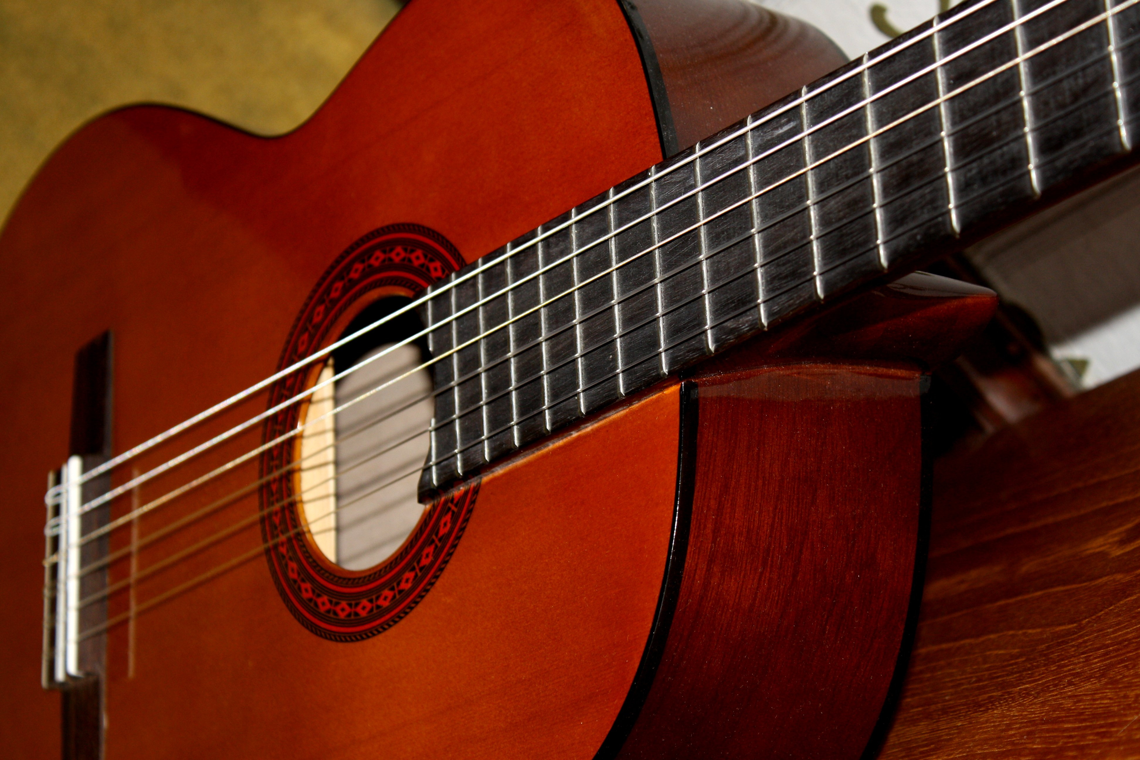Free Download Classical Guitar High Resolution Photo