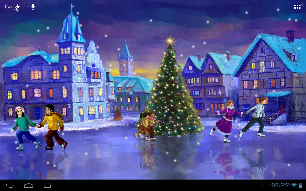 Christmas Rink Live Wallpaper   Android Apps on Google Play 1280x800