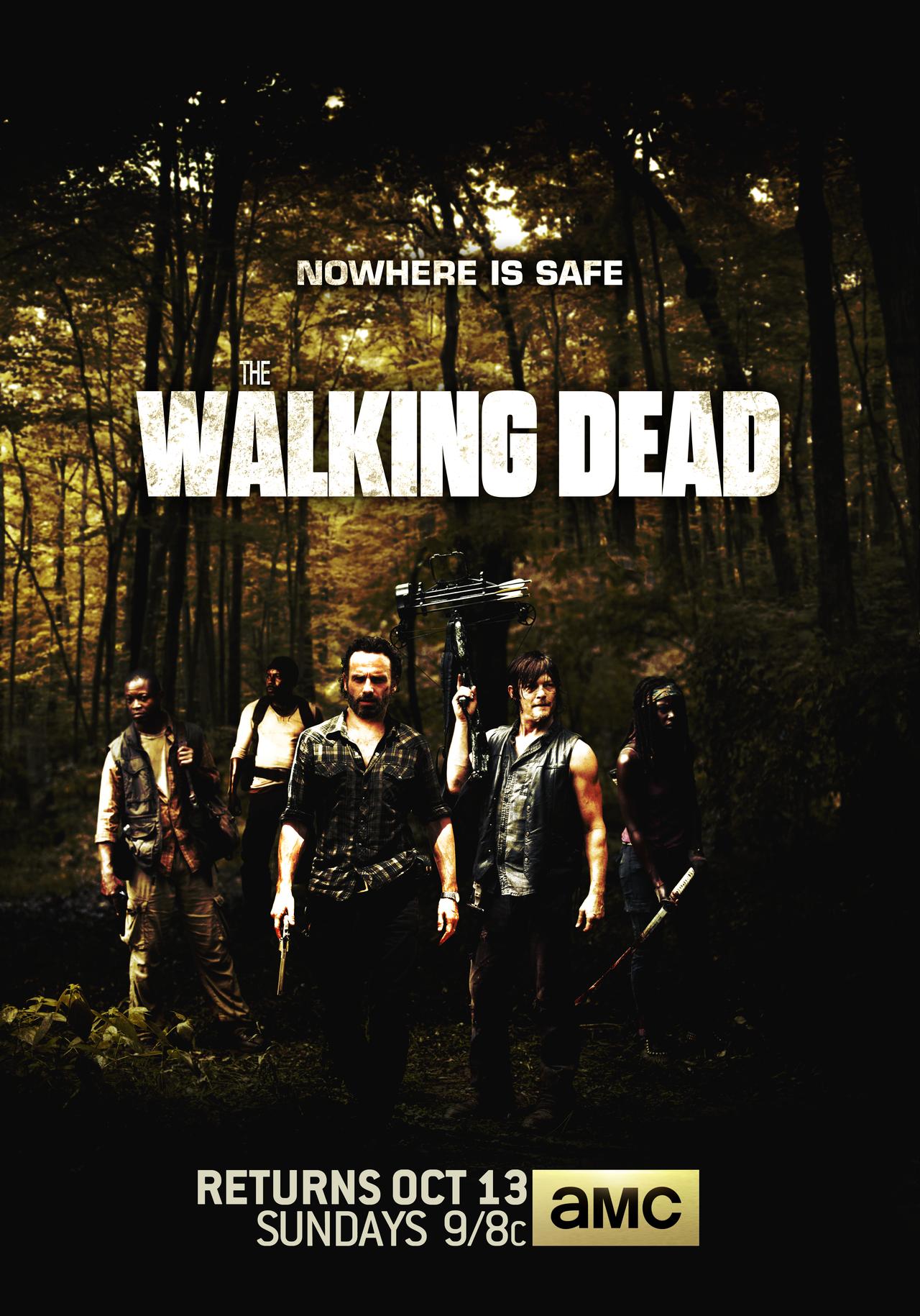49 Season 6 Walking Dead Wallpaper On Wallpapersafari