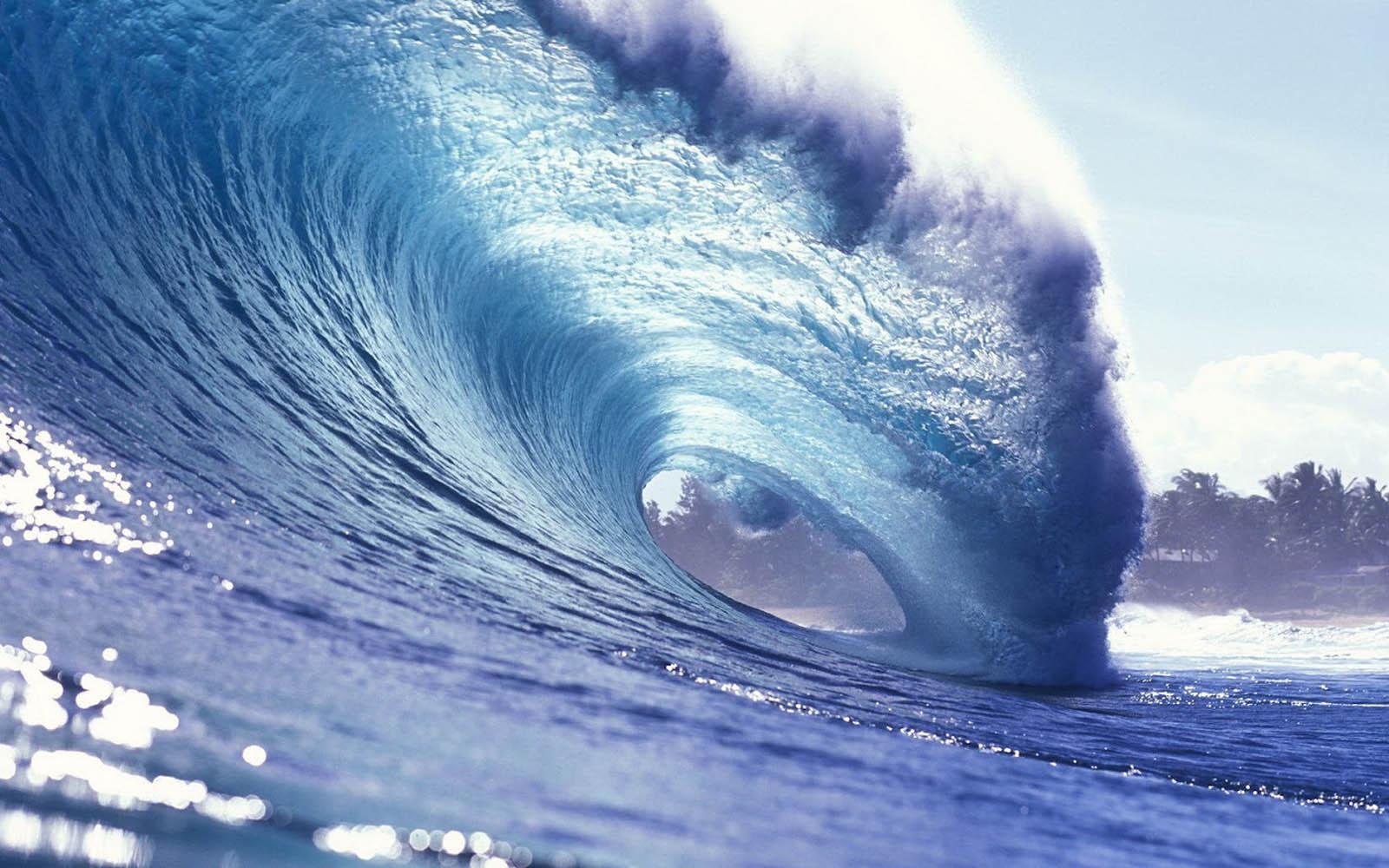 Circle Of Ocean Waves Wallpaper HD 10456 Wallpaper High Resolution 1600x1000