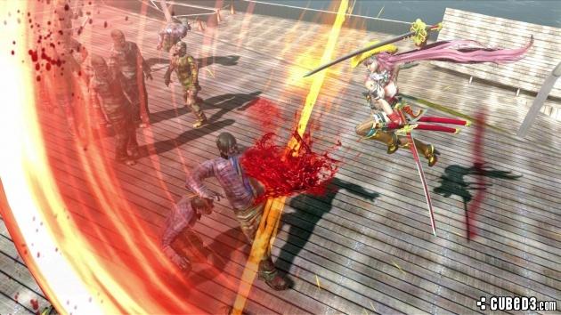 screenshots character art and wallpapers for Onechanbara Z2 Chaos 630x354