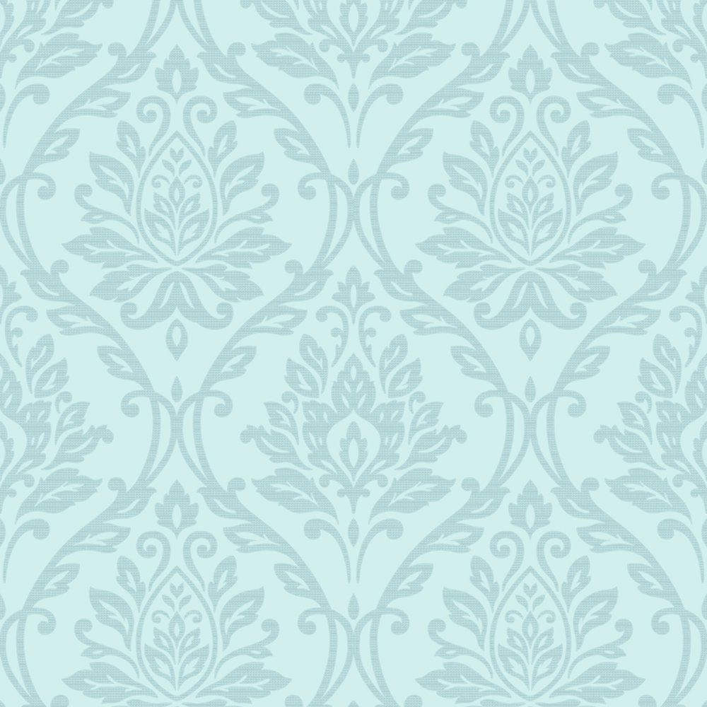 Free Download Teal And Gold Damask Wallpaper 1000x1000 For Your