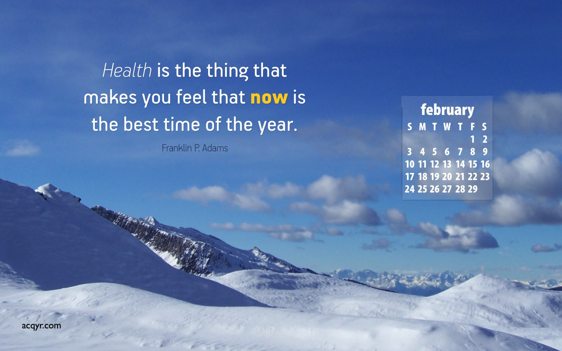 February 2008 Desktop Wallpaper Calendar   1 1920x1200