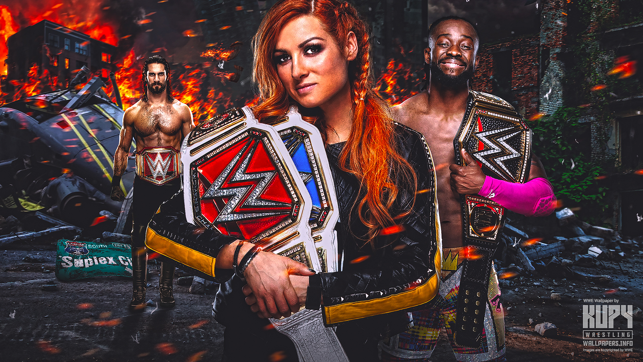 Kupy Wrestling Wallpapers The latest source for your WWE 2560x1440
