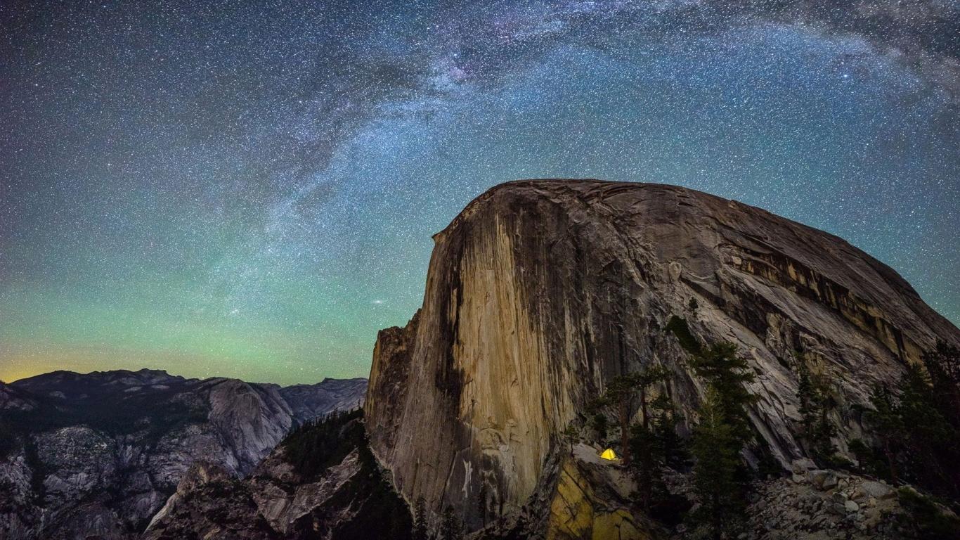 download Yosemite Camp 1080p Wallpaper New HD Wallpapers 1366x768