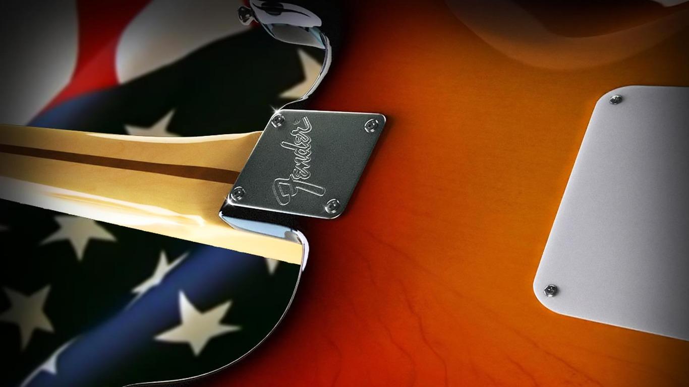 Fender Guitar wallpaper 1087 1366x768