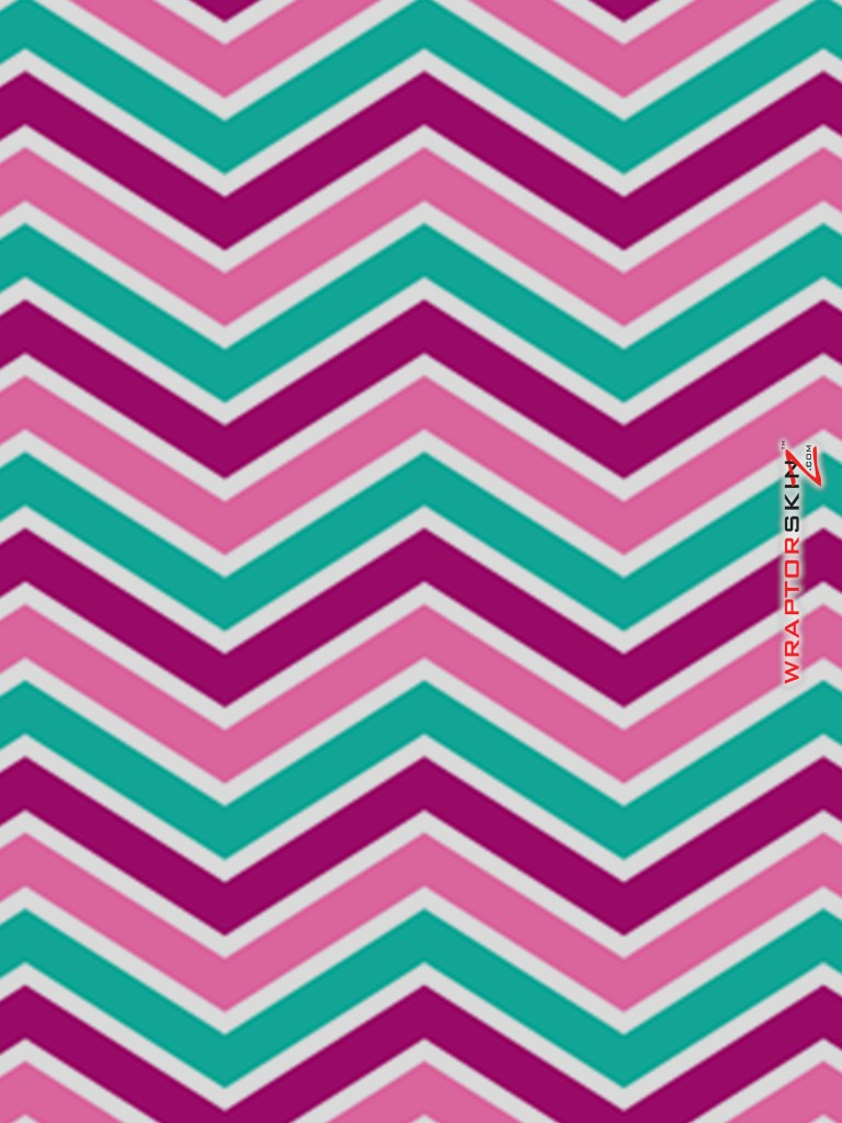 Purple And Teal Zig Zag Backgrounds 768x1024