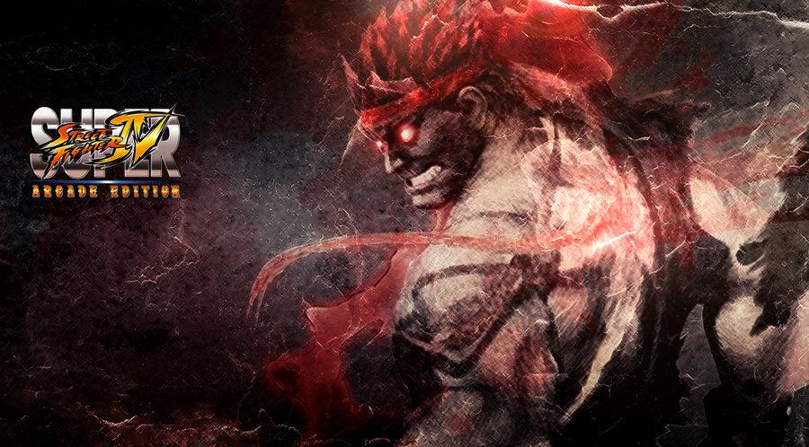 Evil Ryu Street Fighter 4 Wallpaper