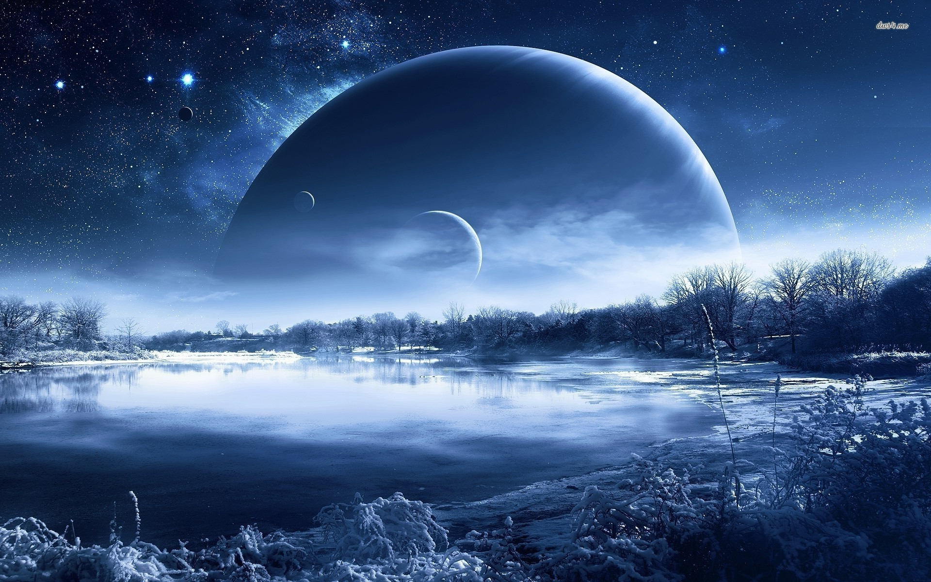 Icy planet wallpaper   Fantasy wallpapers   18800 1920x1200