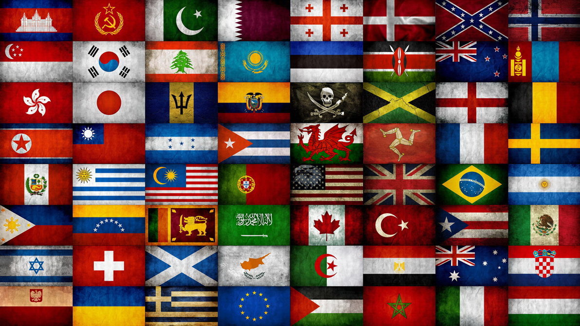 World flags wallpaper wallpapersafari world flags by atillawolf 1191x670 gumiabroncs Gallery