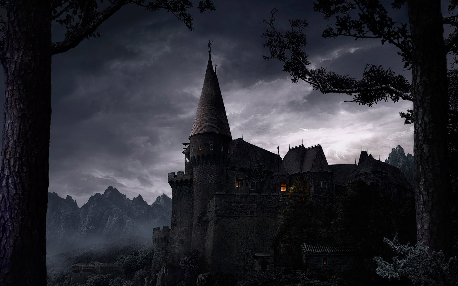 Wallpaper Abyss Explore the Collection Castles Fantasy Castle 90023 1920x1200