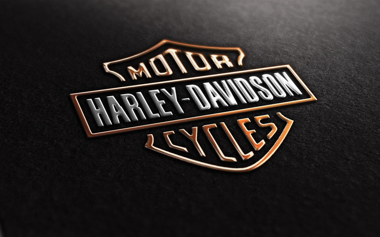 Harley Davidson Logo Motorcycle Wallpaper Wide 10715 Wallpaper High 2880x1800