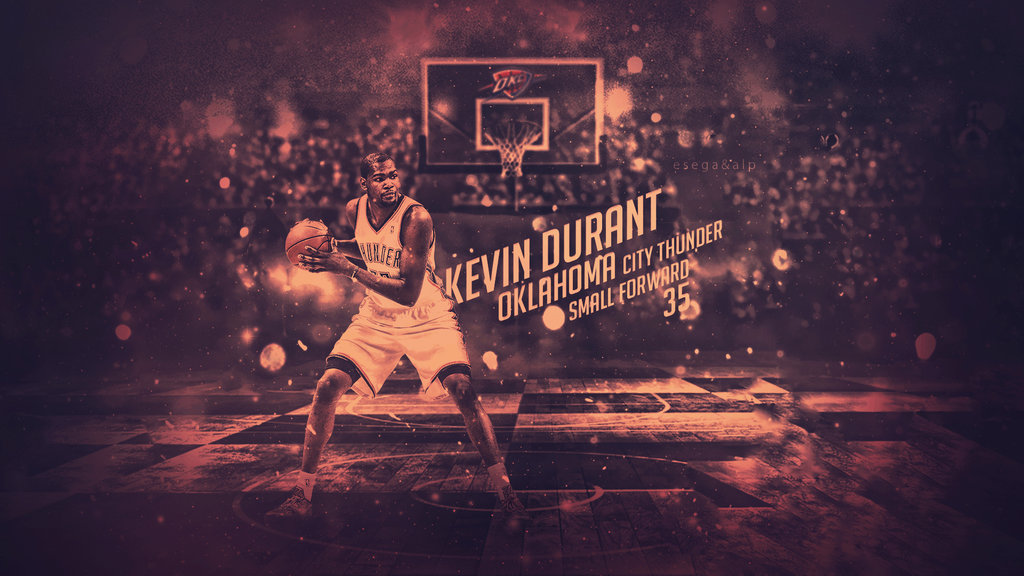 Kevin Durant Wallpaper ft Alp Graphic by EsegaGraphic 1024x576