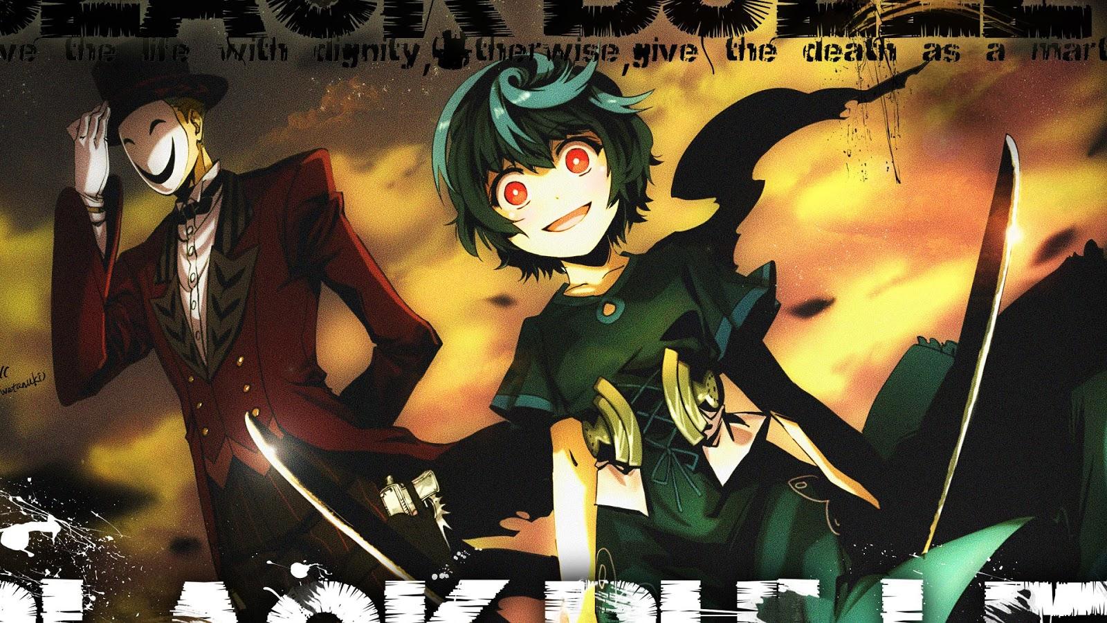 kagetane hiruko and kohina black bullet anime 1600x900