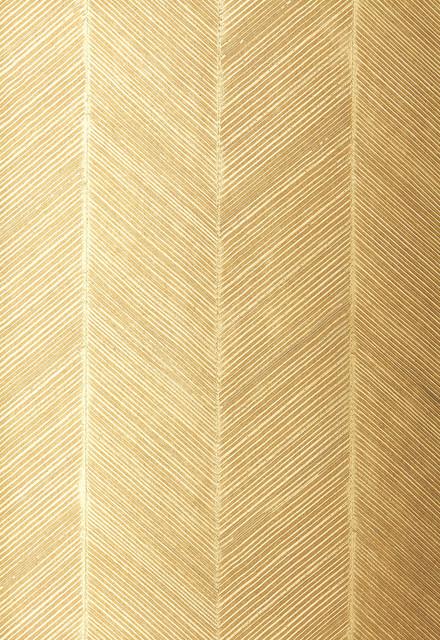 Chevron Texture Wallpaper White Gold   Transitional   Wallpaper   by 440x640