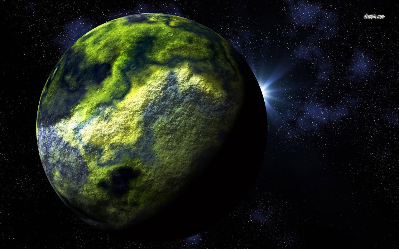 Green planet wallpaper   Fantasy wallpapers   12319 1280x800
