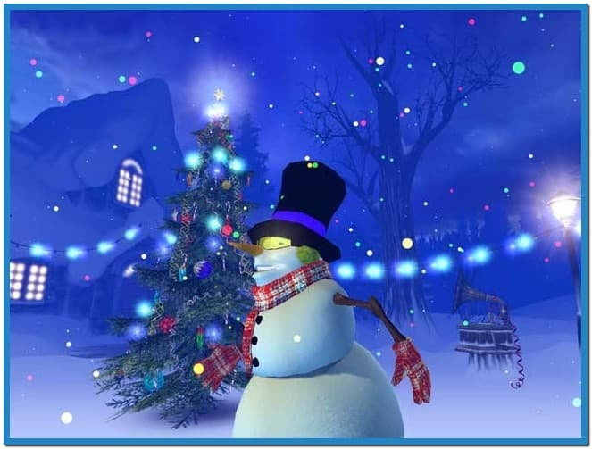 Animated christmas wallpapers and screensavers - Download free