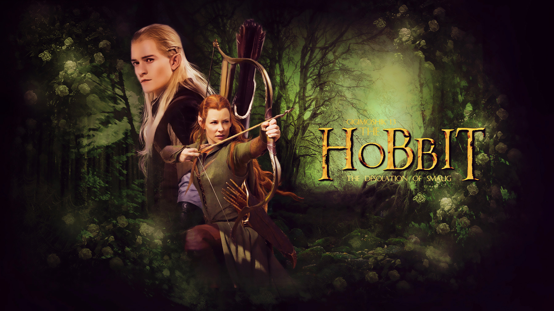 The Hobbit The Desolation of Smaug HD   Wallpaper High Definition 1920x1080