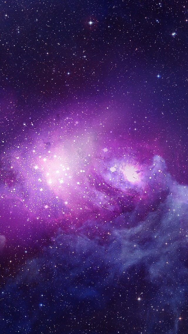 iPhone 5 Wallpaper iOS7 galaxy 640x1136